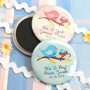 Baby Shower Personalized Magnets (2.25in) image