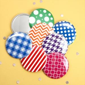 Assorted Trendy Mirror Favors (Set of 12) image