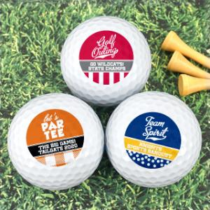 Personalized Golf Balls - Sports Themed image