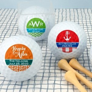 Personalized Silhouette Design Golf Balls image