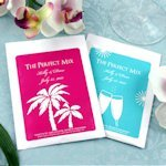 Personalized Silhouettes Cosmopolitan Mix Favors