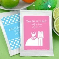 Personalized Silhouettes Margarita Mix Favors