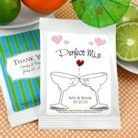 Personalized Wedding Margarita Mix Favors - Many Designs
