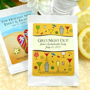 Personalized Lemon Drop Martini Favors (Many Designs) image