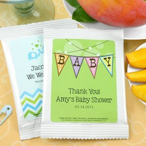 Personalized Baby Shower Mango Margarita Mix Favors image