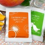 Personalized Silhouettes Mango Margarita Mix Party Favors