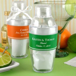 Personalized Drink Shaker Favor with Margarita Mix image