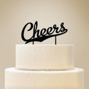 Cheers Cake Topper image