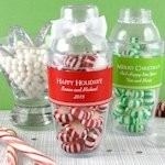 Personalized Holiday Cocktail Shaker Favor