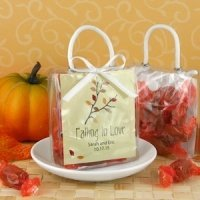 Falling in Love Personalized Mini Gift Tote Favors
