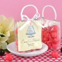 Bridal Shower Personalized Mini Gift Tote Favors