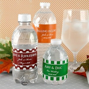 Personalized Waterproof Water Bottle Labels (Set of 5) image