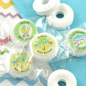 Personalized Baby Life Savers Mint Favors image
