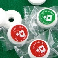 Vegas Theme Life Savers Mint Favors