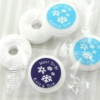 Winter Silhouette Life Savers Mint Favors