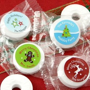 Holiday Designs Personalized Life Savers Mint Favors image