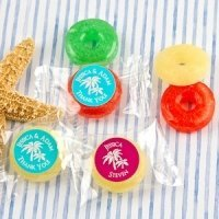 Beach Silhouette Fruit Flavors Life Savers Candies