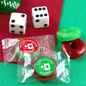 Poker Party Fruit Flavors Life Savers Candies image