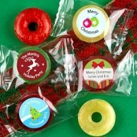Holiday Designs Fruit Flavors Life Savers Candies