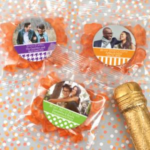 Photo Gummy Bear Favors - Champagne Flavor image