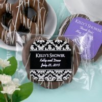 Edible Bridal Shower Chocolate Pretzel Favors