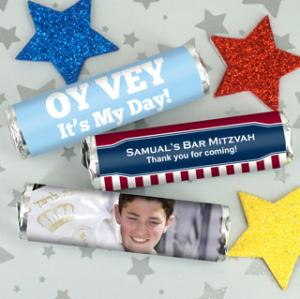 Bar Mitzvah & Bat Mitzvah Breath Savers Mint Rolls image