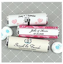 Personalized Breath Savers Mint Rolls image