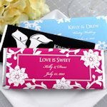 Personalized Wedding Chocolate Bar Favors (Many Designs)