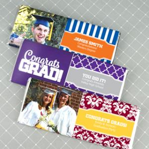 Graduation Hershey's Chocolate Bars image