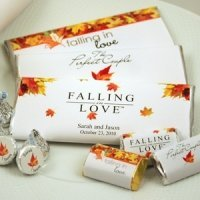 Personalized Autumn Hershey's Chocolate Bars