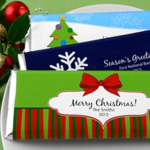 Holiday Hersheys Bar Wrappers image