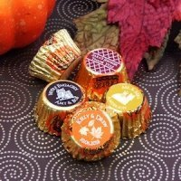 Personalized Autumn Silhouette Peanut Butter Cup Favors