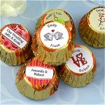 Personalized Wedding Peanut Butter Cups (Many Designs)