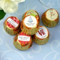 Personalized Bridal Shower Peanut Cutter Cup Candy Favors
