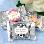 Personalized York Peppermint Patty Candy Wedding Favors