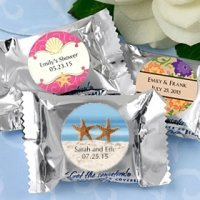 Beach Theme Personalized York Pepperment Patties