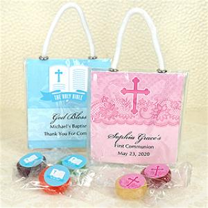 Religious Life Savers Candy Mini Gift Tote Favors image
