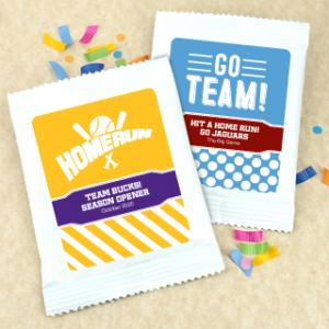 Cocoa Favors - Sports Themed image