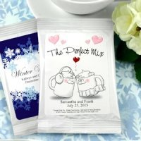 Personalized Wedding Cocoa Favors (Many Designs)