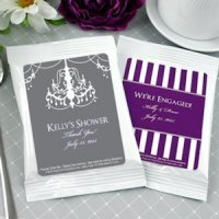 Personalized Bridal Shower Cappuccino Mix Favors