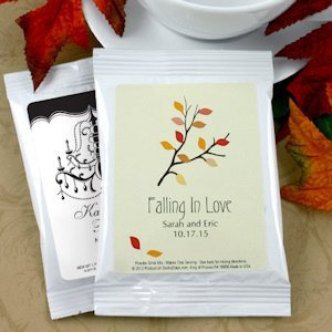 Personalized Wedding Cappuccino Favors (Many Designs) image