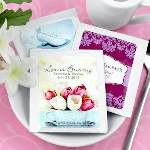 Garden and Flower Themed Tea Party Favors image