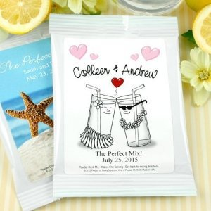 Personalized Wedding Lemonade Favors (Many Designs) image