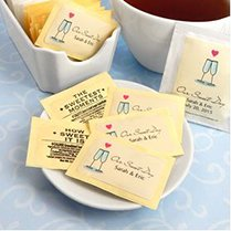 Personalized Wedding Sugar Substitute Packets (Set of 100) image