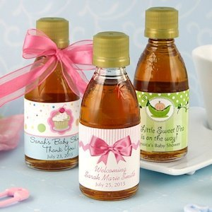 Sweet Baby Maple Syrup Favors (Many Designs) image