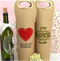 Personalized Wine Tote image