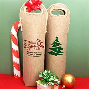 Holiday Wine Tote image