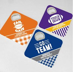 Bottle Opener Coasters - Sports Themed image