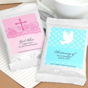 Personalized Religious Coffee Favors - White (Many Designs) image