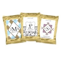 Monogrammed Coffee Favors - Gold (Many Designs)